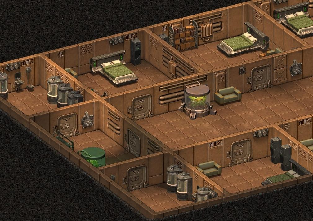Жилые комнаты для семейных пар