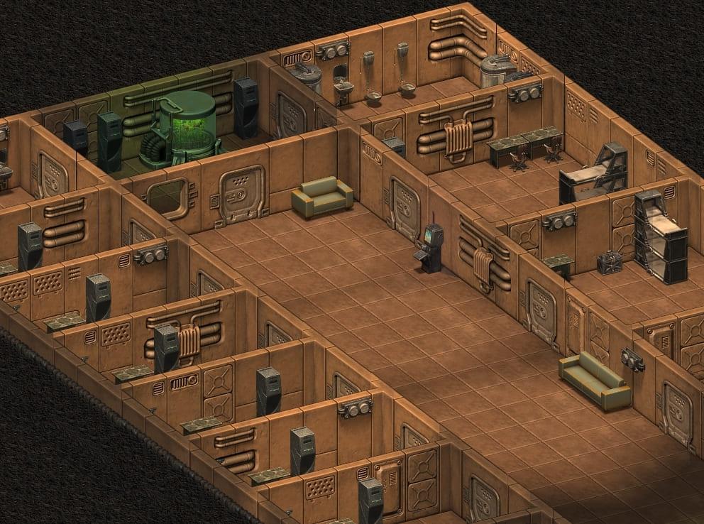 Личные комнаты на втором жилом уровне